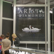 Stockfoto: AristDiamonds Jewelry Factory booth