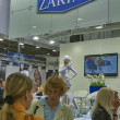 Zarina Jewelry House booth — Stock fotografie