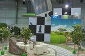 Avenue Decor company booth — Stock Photo