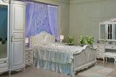 Baroque bedroom — Stock Photo