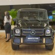 Mercedes-Benz car model on display — Stock Photo #26375097