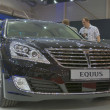 Hyundai Equus car model presentation — Stock Photo