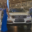 SsangYong Rexton car model presentation — Stock Photo