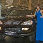 SsangYong Kyron car model presentation — Stock Photo