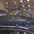 Mercedes-Benz bicycle on display — Stock Photo #26998559