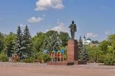 Boguslav city center. Ukraine — Stock Photo