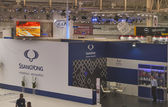SsangYong booth at International Motor Show — Stock Photo