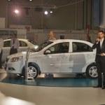 ZAZ Vida Classic new car model presentation — Stock Photo