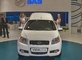 ZAZ Vida pick-up new car model presentation — Stock Photo