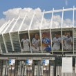 Olympic Stadium in Kiev, Ukraine — Stock Photo