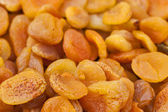 Dried apricots background — Stock Photo