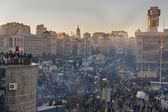 Revolution in Ukraine. EuroMaidan. — Stock Photo