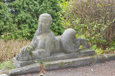 Park sculpture in Olesko castle, Ukraine — Foto de Stock