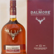 Stock Photo: Dalmore single malt whisky against white