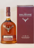 Dalmore single malt whisky against white — Stock Photo
