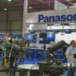 Panasonic TV equipment booth — Stock Photo #40463831