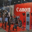 Stock Photo: Canon booth