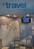 Travel Channel booth — Foto de Stock