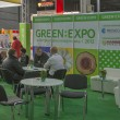 Stock Photo: GREEN EXPO (Alternative Energy) trade show in Kiev, Ukraine.