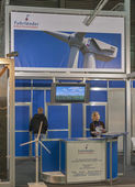 Fuhrlander - The Wind Power German company booth — Stock Photo