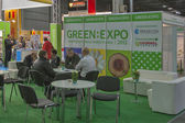 GREEN EXPO (Alternative Energy) trade show in Kiev, Ukraine. — Stock Photo