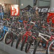 Bike trade show Velobike in Kiev, Ukraine — Stock Photo #40973277