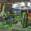 Cannondale booth at Bike trade show — Stock Photo #40973305