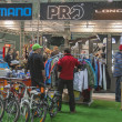 Bike trade show Velobike in Kiev, Ukraine — Stock Photo #40973311