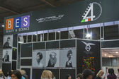 Ventaglio booth at Beauty and Vision Exhibition — Stock Photo
