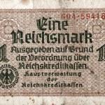 Постер, плакат: 1 Reichsmark 1938 1945 banknote
