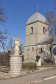 Church of the Holy Cross in Ternopil, Ukraine — Stock Photo