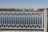 Ternopil cityscape with lake, Ukraine — Stock Photo