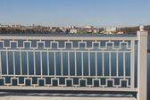 Ternopil cityscape with lake, Ukraine — Stock Photo