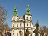 Greek-Catholic Church in Ternopil, Ukraine — Stock Photo