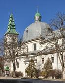 Greek-Catholic Church in Ternopil, Ukraine — Stock Photo