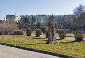 Ternopil cityscape, Western Ukraine — Stock Photo
