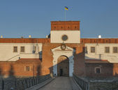 Dubno Castle gate, Ukraine — Stock Photo