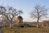 Dubno Castle tower and courtyard, Ukraine — Stock Photo