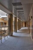 Modern corridor interior — Стоковое фото