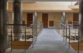 Modern hotel corridor interior — Stock Photo