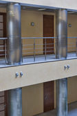 Modern corridor interior — Stock Photo