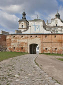 Monastery of Discalced Carmelites, panoramic. — Stock Photo