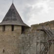 Tower of Kamianets Podilsky Castle — Stock Photo #47853367