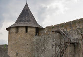 Tower of Kamianets Podilsky Castle — Stock Photo