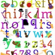 Vector Music Alphabet Set - Stock Vector