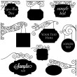 Royalty-Free Stock Vector Image: Vector Set of Vintage Signs