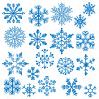 Royalty-Free Stock Immagine Vettoriale: Snowflake Vectors