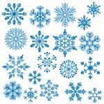 Snowflake Vectors — Stock Vector #25039287