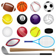 Vector Sports Set — Stock Vector #25039301