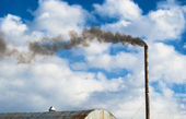 Smoke from factory. — Stock Photo